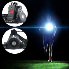 0-20m Safety LED Night Light Chest Lamp Flashlight For Walking Camping Running