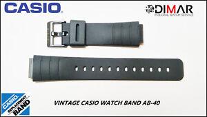 Vintage Casio Original Watch Band AB-40 NOS