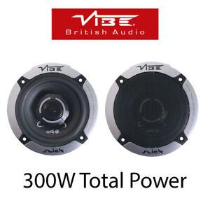 """VW Volkswagen Transporter T4 Front Dash 4"""" 10cm 2 Way 300 Watts Van Speakers"""
