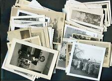 Lot of 100+ Vintage Snapshot Photos Black & White Vernacular 999036