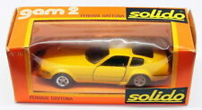 Solido 1/43 Scale Diecast Model Car JK20218H - Ferrari Daytona - Yellow