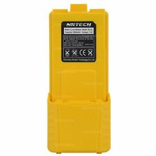 NKTECH 3800mAh Extended Battery Fit BaoFeng UV-5R V2+ UV-5RE Plus UV-5RB BFF8 YE