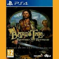 The Bards Tale: Remastered And Resnarkled - Sony Playstation 4 [Region Free] NEW