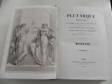 MENNECHET PLUTARQUE FRANCAIS MOYEN AGE 32 gravure relié