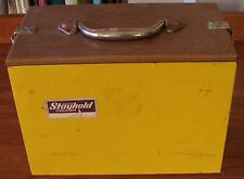 "VINTAGE CLAYTON STAYKOLD PERSONAL LUNCH COOLER  11"" x 8"" x 6"""