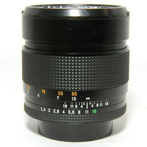 Contax Carl Zeiss Planar 85mm F1.4 For Contax/Yahica
