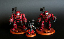 Pro painted Warhammer 40k Cult Mechanicus Kastelan Robots squad miniatures