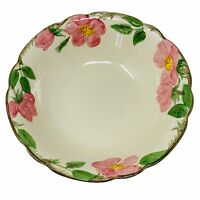 "Franciscan Desert Rose 9"" Round Serving Bowl Made in USA"