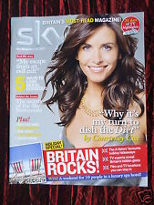 SKY UK TV GUIDE MAGAZINE - JULY 2007 - COURTENEY COX - LISA SNOWDON
