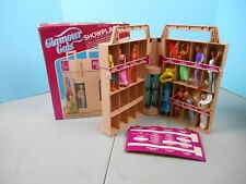 Vintage Kenner Glamour Gals Showplace Case with 11 Dolls And Box