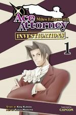 Miles Edgeworth: Ace Attorney Investigations 1, Kenji Kuroda, Good Book