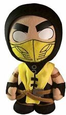 """Mortal Kombat X 10 Scorpion 8"""" Plush Toy Doll by Mezco Toys"""