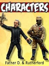 Pulp Alley -- Father O & Rutherford  28mm Miniatures Pack