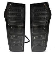 1 PAIR LED TAIL LIGHT LAMP REAR BLACK SMOKE DARK LENS ISUZU DMAX D-MAX 12 13 14