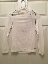 NWT Nike Pro Performance Women's Dri-Fit White Long Sleeve Shirt Small