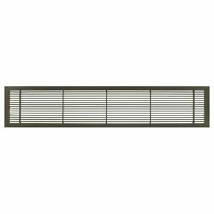 """Architectural Grille AG10 Series 2.25"""" x 14"""" Solid Aluminum Fixed Bar Air Vent"""