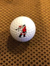 Logo Golf Ball-Santa Claus.Golfing