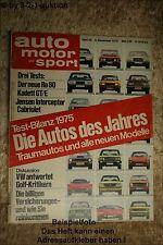 AMS Auto Motor Sport 25/75 NSU Ro 80 Opel Kadett GT/E Jensen Interceptor