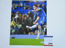 FRANK LAMPARD SIGNED 11X14 PHOTO PSA/DNA COA AC51870 CHELSEA FC SOCCER