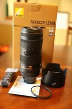 Nikon Nikkor AF-S 70-200mm f2.8E FL ED VR Lens - Black (20063)