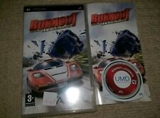BURNOUT LEGENDS  - Rare Sony PSP Game