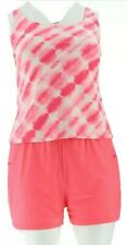 Ocean Dream Signature Tie Dye Tankini Swimsuit Coral size 16