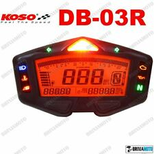DIGITAL METER KOSO DB03R TACHOMETER SPEED 360KMH 15000 RPM GEAR FUEL VOLT HOUR