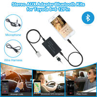 Car Bluetooth Kits Hands-free Aux Stereo Adapter for Toyota Corolla RAV4 MA2167