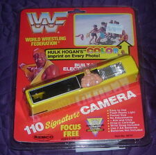 REMCO  WWF  HULK HOGAN  110  FILM CAMERA  1991  SEALED  UNUSED