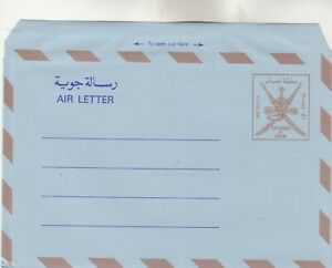 4 Oman Air Letters