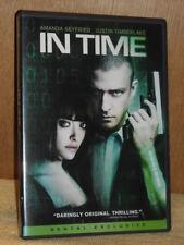 In Time (DVD, 2012) Justin Timberlake Amanda Seyfried Cillian Murphy