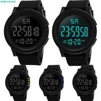 LED Waterproof Digital Quartz Fashion Watch Military Sport Men's Wrist Watches