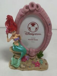 """The Disney Store Ariel Picture Frame 3.5"""" x 5"""" The Little Mermaid Movie Decor"""