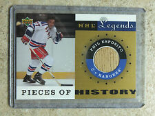 01-02 UD NHL Legends A Pieces Of History Sticks #PH-ES PHIL ESPOSITO