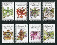 Barbuda Scott #1113-1120 MNH OVPT Barbuda Mail on Orchids EXPO '90 Osaka CV$68+