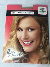 Liberts adult footed tights size B LIGHT SUNTAN NEW style 212 PANTYHOSE  NYLONS
