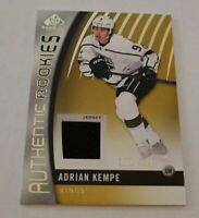 ADRIAN KEMPE - 2017/18 SP GAME USED - ROOKIE JERSEY - #102/399 - KIINGS