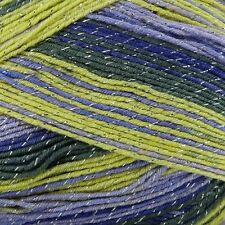 Knitting Wool 100g Party Glitz 4ply Yarn Sparkle Christmas Yarn King Cole Fairy 2352