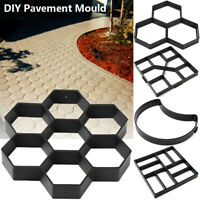 Stone Road Paving DIY Garden Path Beton Brick Maker Cement Mould Concrete Molds