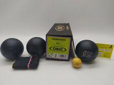 3 Boules de Pétanque OBUT RCC Compétition 74mm 700g Stries 0 + Marquage - NEUVES