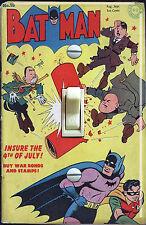 Vintage Batman #18 1943 Comic Single Switch Plate  ***FREE SHIPPING***