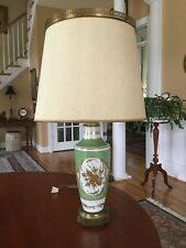 Antique French Porcelain Table Lamp