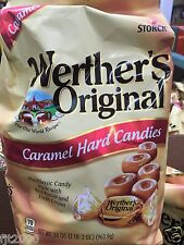 Werther's Original Caramel Hard Candy 34 oz FREE SHIPPING