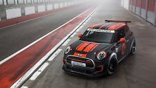 2017 Mini Cooper works challenge 24X36 inch poster, sports car