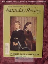 Saturday Review April 3 1965 MARTIN LUTHER KING SELMA MARCH Kenneth Rexroth
