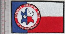 American Indian Tribe Flag Oregon Cherokee Delaware Tribe of the Northwest Reser