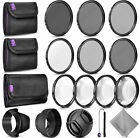 67MM Altura Photo Filter Kit (UV-CPL-ND4) + ND 2 4 8 + Macro Close Up Set