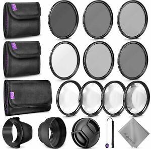 67MM Altura Photo Filter Kit (UV-CPL-ND4) + ND 2 4 8 + Macro Close Up Set