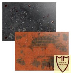 Elite / Recruit Edition heavyweight paper gaming mat - Warhammer 40k 9th Edition