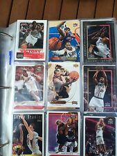 lot of 340 basketball NBA CARDS, FLEER ,Victory TOPPS UPPER DECK AND MORE